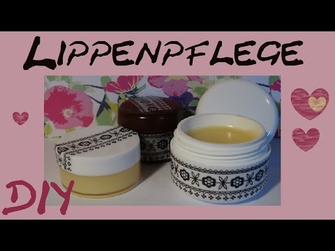 DIY Kosmetik selber machen: Lippebalsam/ lip balm/ Pflege für die Lippen