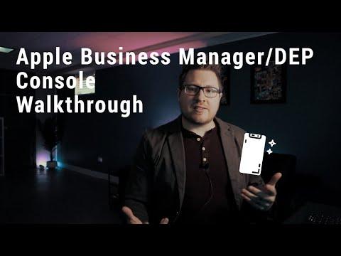 Apple Business Manager/DEP Console Walkthrough
