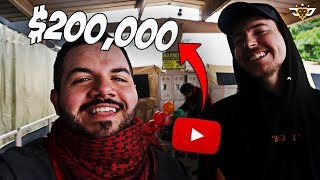 MR. BEAST'S $200,000 YOUTUBER BATTLE ROYALE WAS INSANE! AM I NOW RICH?!