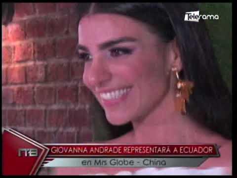 Giovanna Andrade representará a Ecuador en Mrs  Globe - China