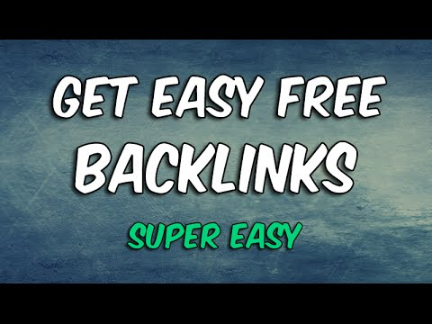 How To Build Backlinks in SECONDS For FREE! - SUPER DAMM EASY.