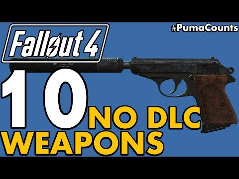 Top 10 Best Vanilla (NO DLC) Guns And Weapons In Fallout 4 #PumaCounts