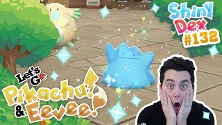 INSANE SHINY DITTO! VOICE ACTIVATED! POKEMON LET'S GO PIKACHU and EEVEE! by aDrive