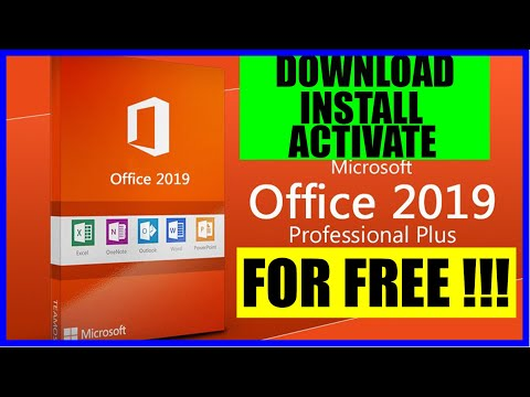 Download Microsoft Office Pro Plus 2019 Full Version for Free (Direct download)