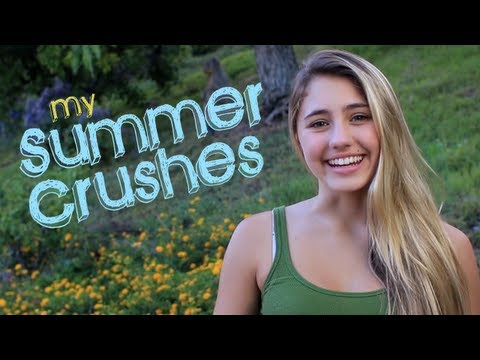 crushes - Check out my summer crushes - what are you crushing on!? Let me know in the comments! SUBSCRIBE!! http://bit.ly/14zYOX9 Follow my TWEETS!! http://bit.ly/1eyy...