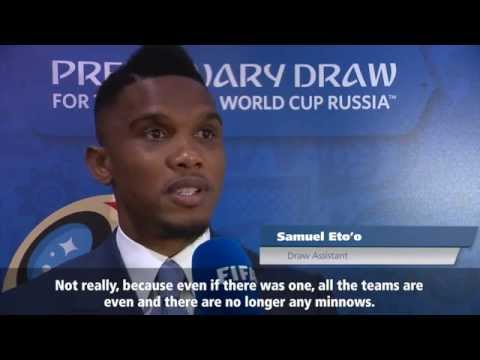Eto'o reveals his hopes for the Lions