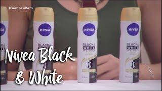 Desodorante Nivea Black & White Toque de seda