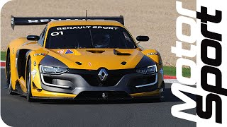 Renault R.S. 01 tested on Magny-Cours GP track by Motorsport Magazine