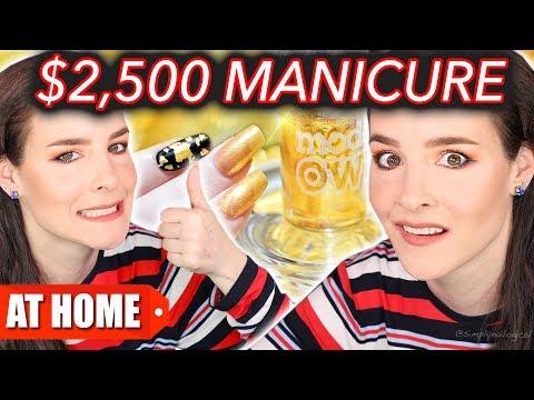 $25 Manicure Vs. $2,500 Manicure (DIY at Home!)
