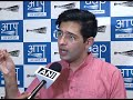 AAP Senior Leader Raghav Chadha Briefs Media on Officers Rejecting Orders by Delhi Govt