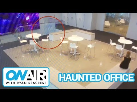 We caught a GHOST on camera! | On Air with Ryan Seacrest