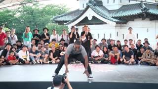 Franqey – Red Bull BC One Japan Camp 2017 SAMURAI POPPIN 1on1 WORLD FINAL JUDGE MOVE (Another angle)