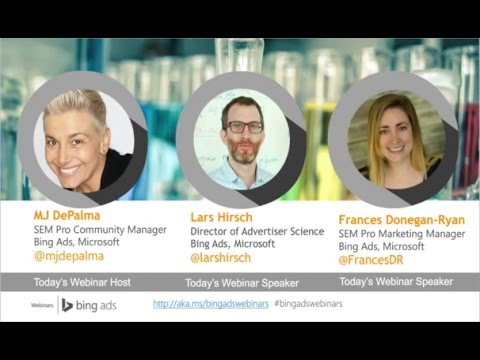 Bing Ads Advertiser Science Series: The Science of Brand Bidding Webcast