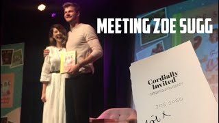 Meeting Zoe Sugg at her Cordially Invited book event