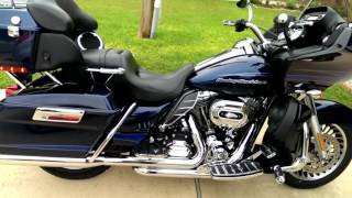 3. 2012 Road Glide Ultra after Stage 4 dresser duels and Rinehart 4 inch slip ons.