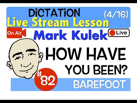 Frases cortas - Mark Kulek Live Stream - How have you been?   #82 - English Communication - ESL