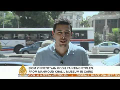 Egyptians hunt for missing Van Gogh