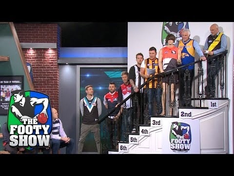 Footy Fans Predict The End Of Season Ladder | AFL Footy Show 2018