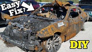 Video Can a $5,000 Fire Salvage Hellcat REALLY Be Rebuilt? MP3, 3GP, MP4, WEBM, AVI, FLV Juli 2019
