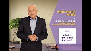 Dr. Ashok Mahashur, Consultant Chest Physician at the P.D. Hinduja Hospital in Mumbai explains what is Asthma. As one of the leading respiratory diseases affecting people in India, Asthma is also known as chronic bronchitis. Watch the video to understand what it means.