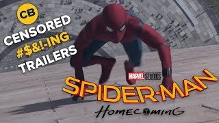 Censored Trailers: SPIDER-MAN HOMECOMING by Comicbook.com