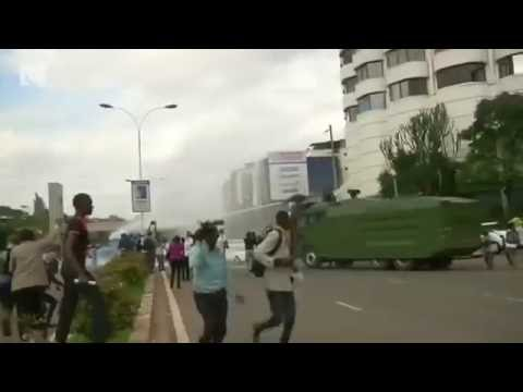 Clashes in Kenya amid electoral bias protests