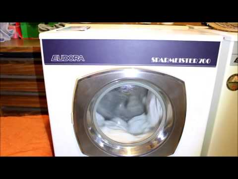 Waschmaschine Waschtag Eudora und Privileg:  Ganz normaler Waschtag bei mir :)