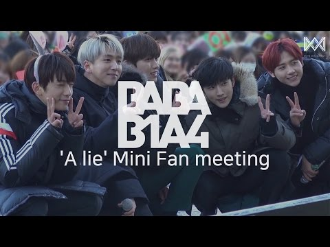 [BABA B1A4 2] EP.32 'A lie' Mini Fan meeting