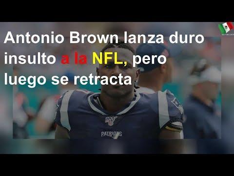 Antonio Brown arremetió con todo contra la NFL