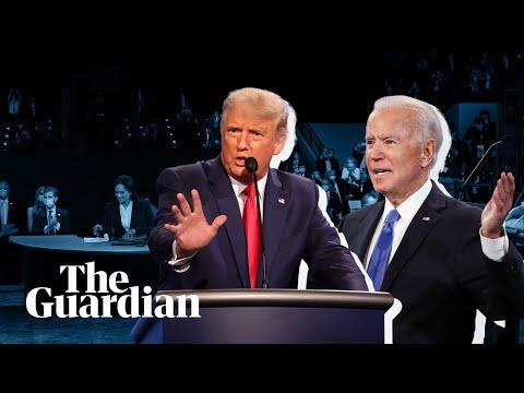 Trump v Biden: the key moments of the final presidential debate