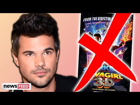 Taylor Lautner DITCHES 'Sharkboy & Lava Girl' Sequel!