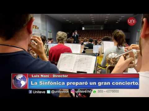 La Sinfónica preparó un gran concierto.