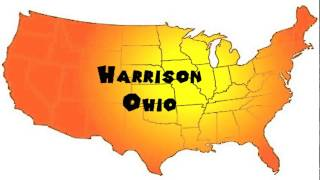 Harrison (OH) United States  city images : How to Say or Pronounce USA Cities — Harrison, Ohio