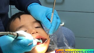 3. Toddler Going To The Dentist For The First Time
