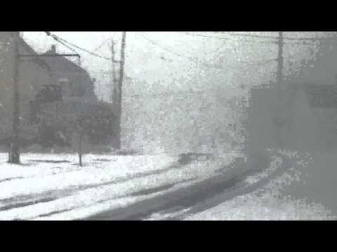 March 26 2014 Snowstorm hits Nova Scotia - YOU HAVE TO SEE TO BELIEVE.Filmed in Meteghan River