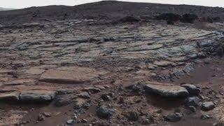 Ancient lake on Mars evidence of life?
