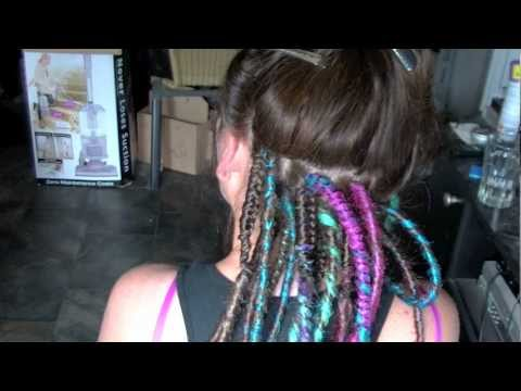 Professional Synthetic Dreadlock Install HD - Rivet Licker