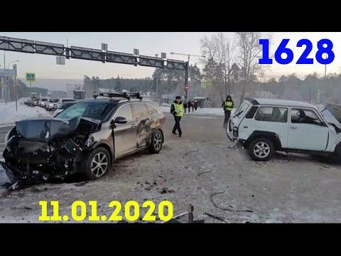 Новая подборка ДТП и аварий от канала Дорожные войны за 11.01.2020