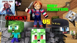 Monster school : CHUCKY HORROR GAME CHALLENGE - BABY MONSTERS