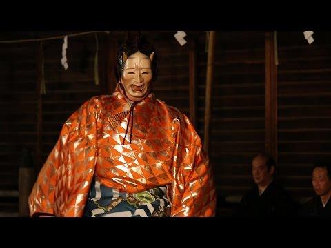 幽玄の美 長田神社で「神戸薪能」