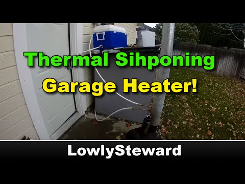 Free Garage Heat from a DIY Thermal Siphon