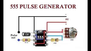 Video 555 Pulse Generator. Simple Circuit. MP3, 3GP, MP4, WEBM, AVI, FLV April 2019