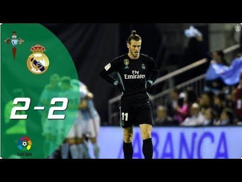 Celta Vigo vs Real Madrid 2-2   Vòng 18 La Liga 2017/18   Highlight & Bàn Thắng 07/01/2018 HD