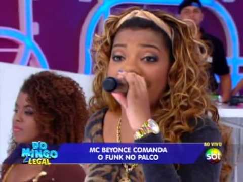 legal - Mc Beyonce canta e leva sua me para o palco. Saiba mais em http://www.sbt.com.br/domingolegal/