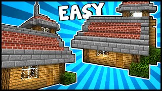 Stylish House With Lookout! - Minecraft Tutorial