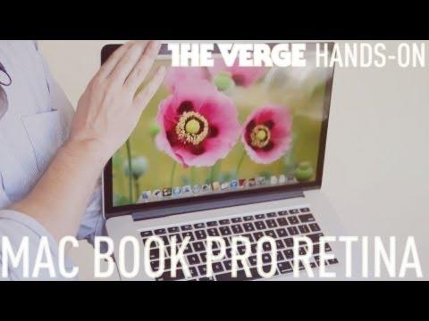 apple新New MacBook Pro實機跟air比較影片