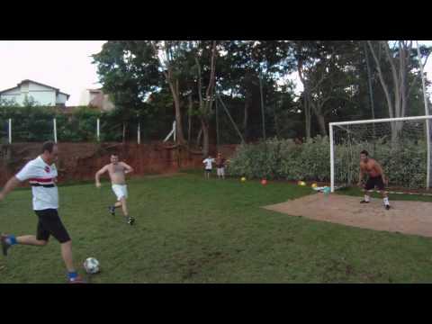 Futebol Médio com os amigos na Craft em Lucélia-SP