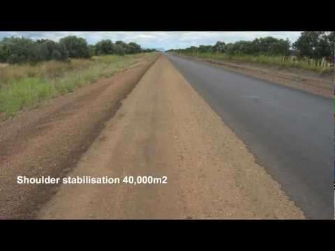 Polymer Road Stabilising Innovation