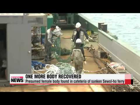Divers find another body from sunken Sewol-ho ferry