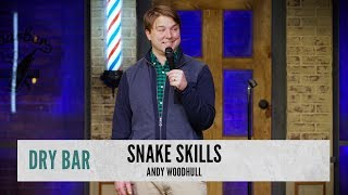 When It Comes To Dealing With Snakes. Andy Woodhull